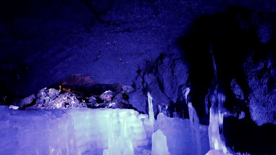 Frozen treasures of Fuji