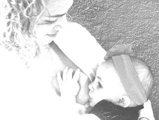 Nunca pensei que eu fosse amamentar uma criança de dois anos...