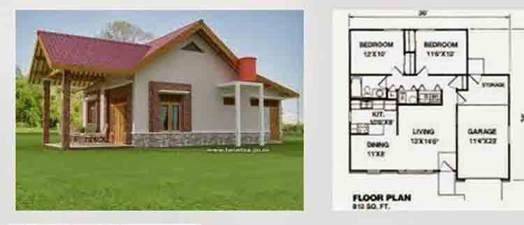 Denah Rumah Type 36