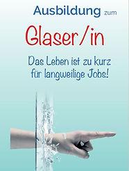 Ausbildung zum Glaser Glaserin