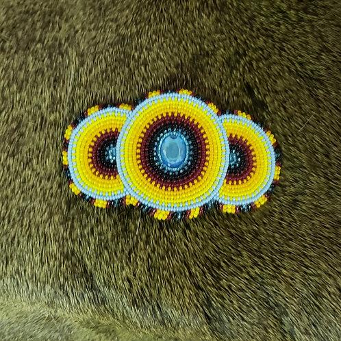 Three Circle Hair Clip