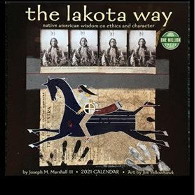 2021 lakota way calendar