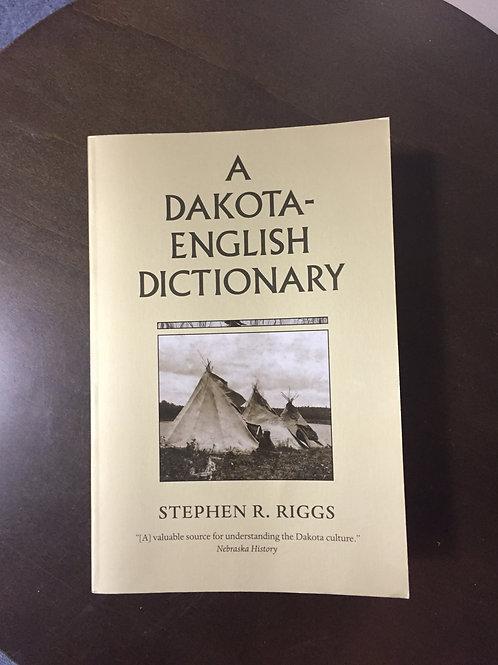 A Dakota-English Dictionary