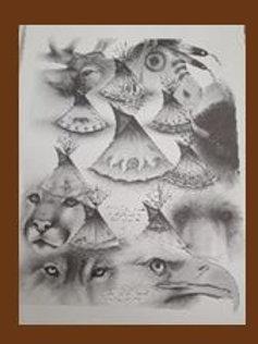Animal Spirit Lodge - Mark Powers (Prints)