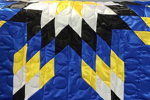 King-Sized Satin Star Quilt