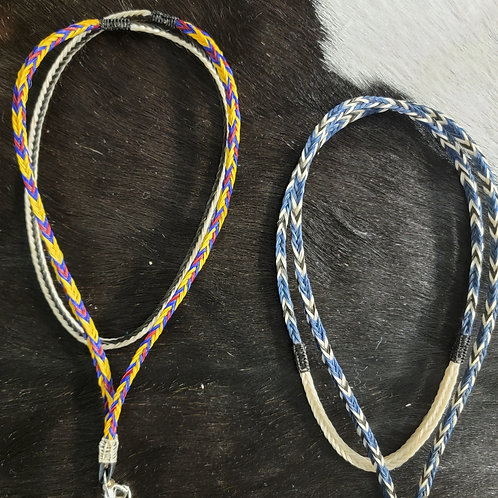 Horse Hair Lanyards - created by Llewellyn Long Wolf