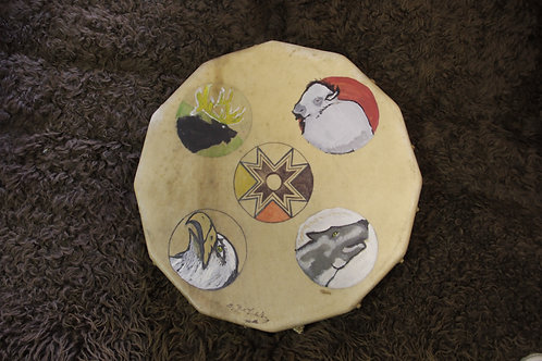 Four Directions Hand Drum