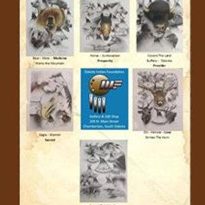 Mark Powers Set of 6 Prints