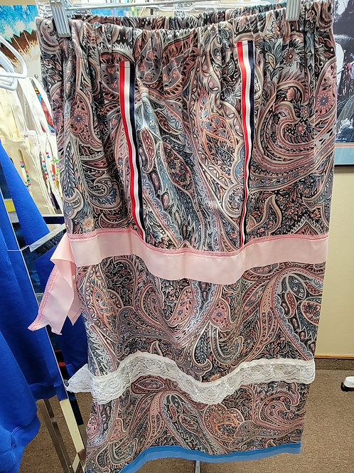 Adult Ribbon Skirts made by CaroleQuilt