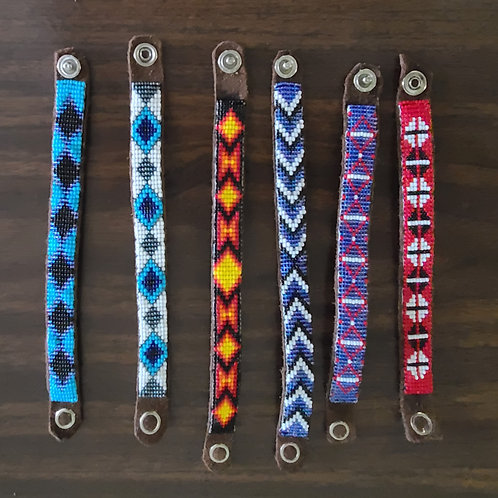 Beaded Wrist Bands - Youth, Women, Adult