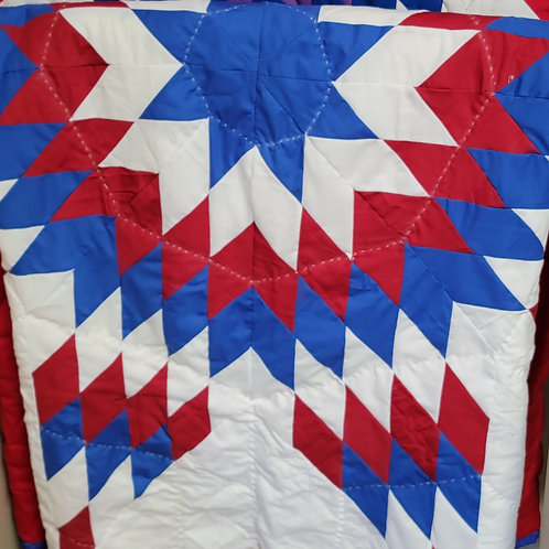 Brilliant Full/Queen Star Quilt