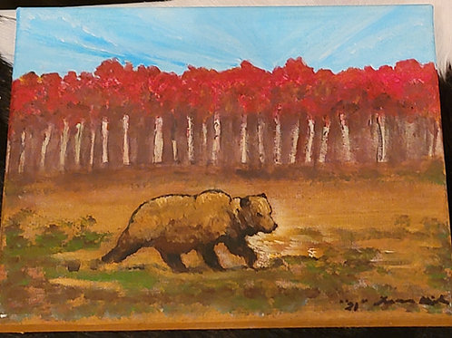 Heading for Hibernation - Created by Lyle Miller