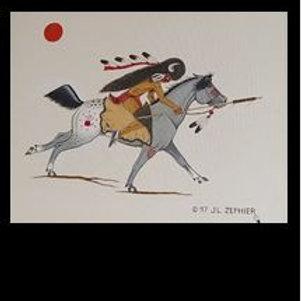 War Pony - J L Zephier