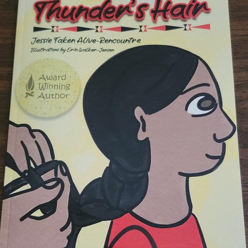 Thunder's Hair written by Jessie Taken Alive Rencountre
