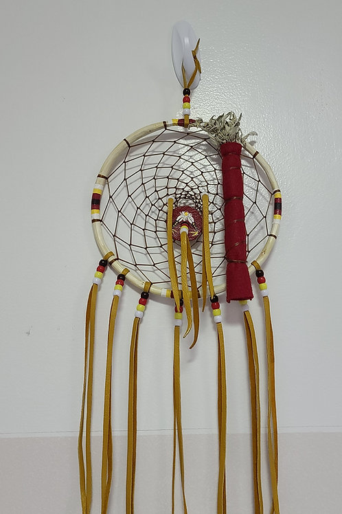 "Dream Catchers - Large Willow Branch ""hoops"" Dream Catch- Artist - Ed Roubideaux"