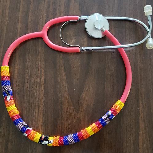 Beaded Stethoscope