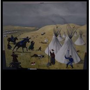 1890 Wounded Knee Massacre - Elton Threee Stars