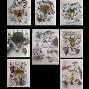 Mark Powers Set of Prints