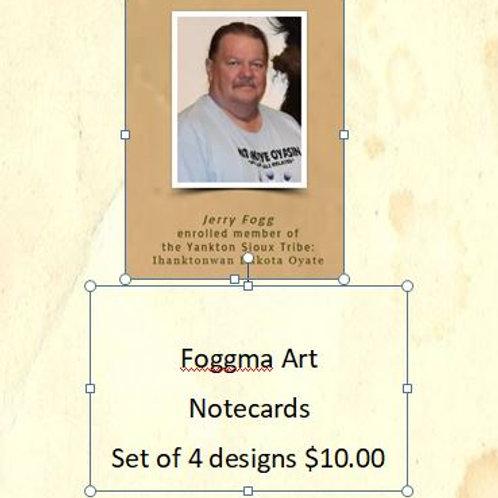 Notecards - Based on Foggma Art