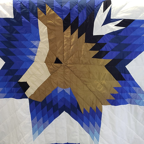 Horse Star Quilt - Twin