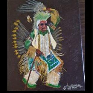 Traditional Dancer Grampa - Lyle Miller Sr.