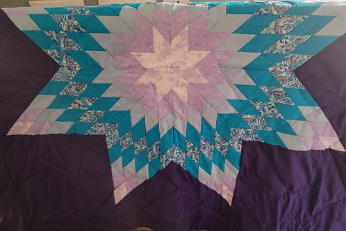 Full/Queen Star Quilt - designed by Misty Wolf Necklace