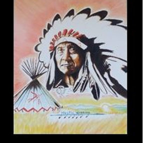 Chief Red Cloud -Ferlin Grass Rope