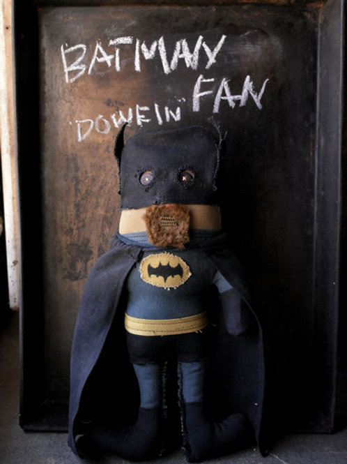 "BATMAN huge fan ""DOWEIN"""