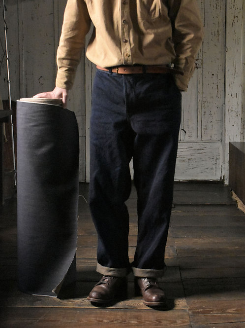 Selvage Denim Work Trousers