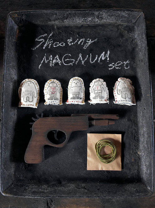 Shooting MAGNUM set