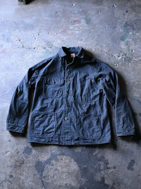 10 oz selvage denim Jacket Black dye