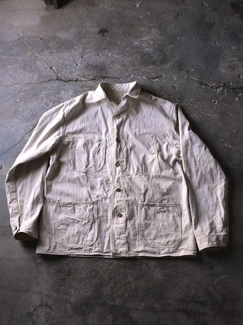 10 oz selvage denim Jacket (Large)