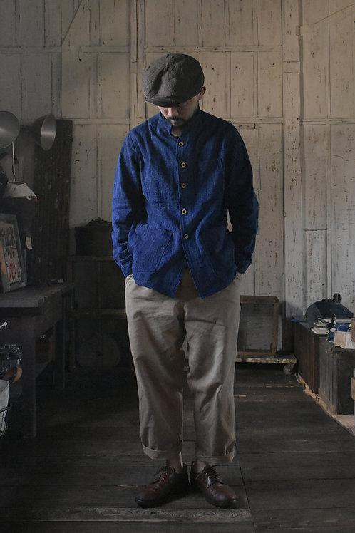 Japanese Indigo Sashiko-ori Jacket (M)