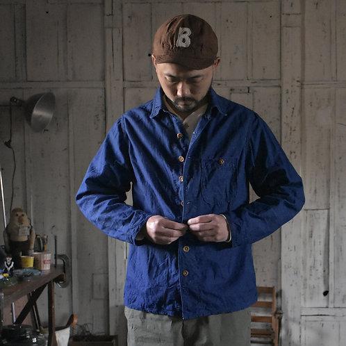 Indigo Shirt Jacket
