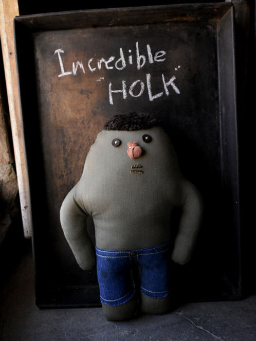 "Incredible ""HOLK"""