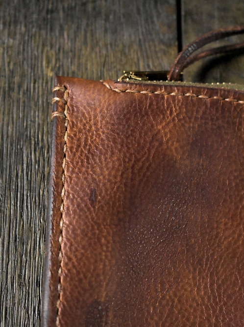 "Leather Pouch ""604"""