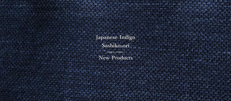 Japanese Indigo Sashiko-ori New Products