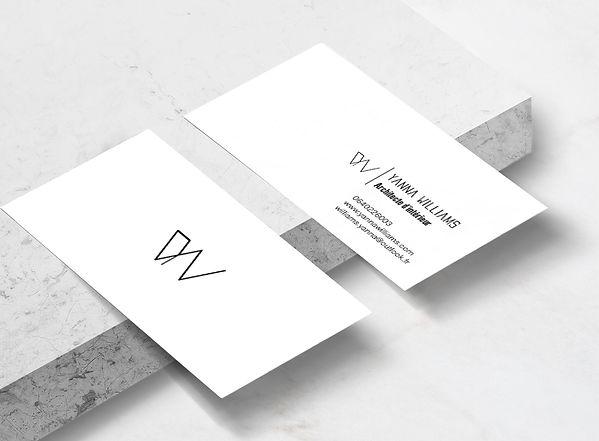 Yanna Williams business card mock up MAR