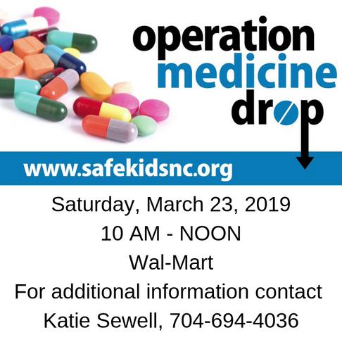 Operation Medicine Drop Saturday March 23rd