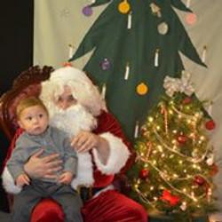 2014 Visit with  santa 10