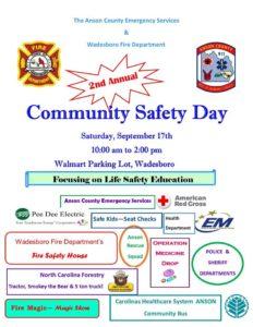 2016 Community Safety Day