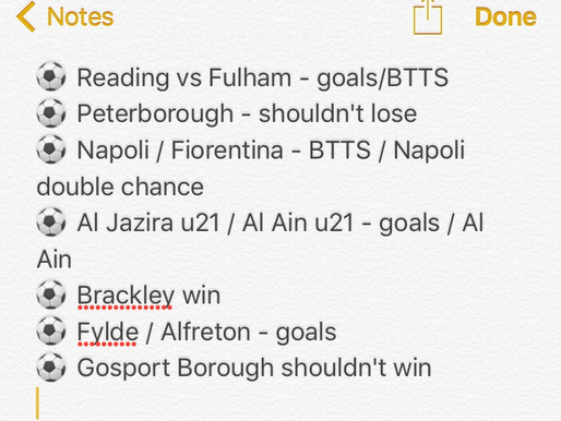 Inplay Betting Guide