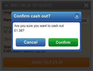 Cash Out: Stick or Twist?