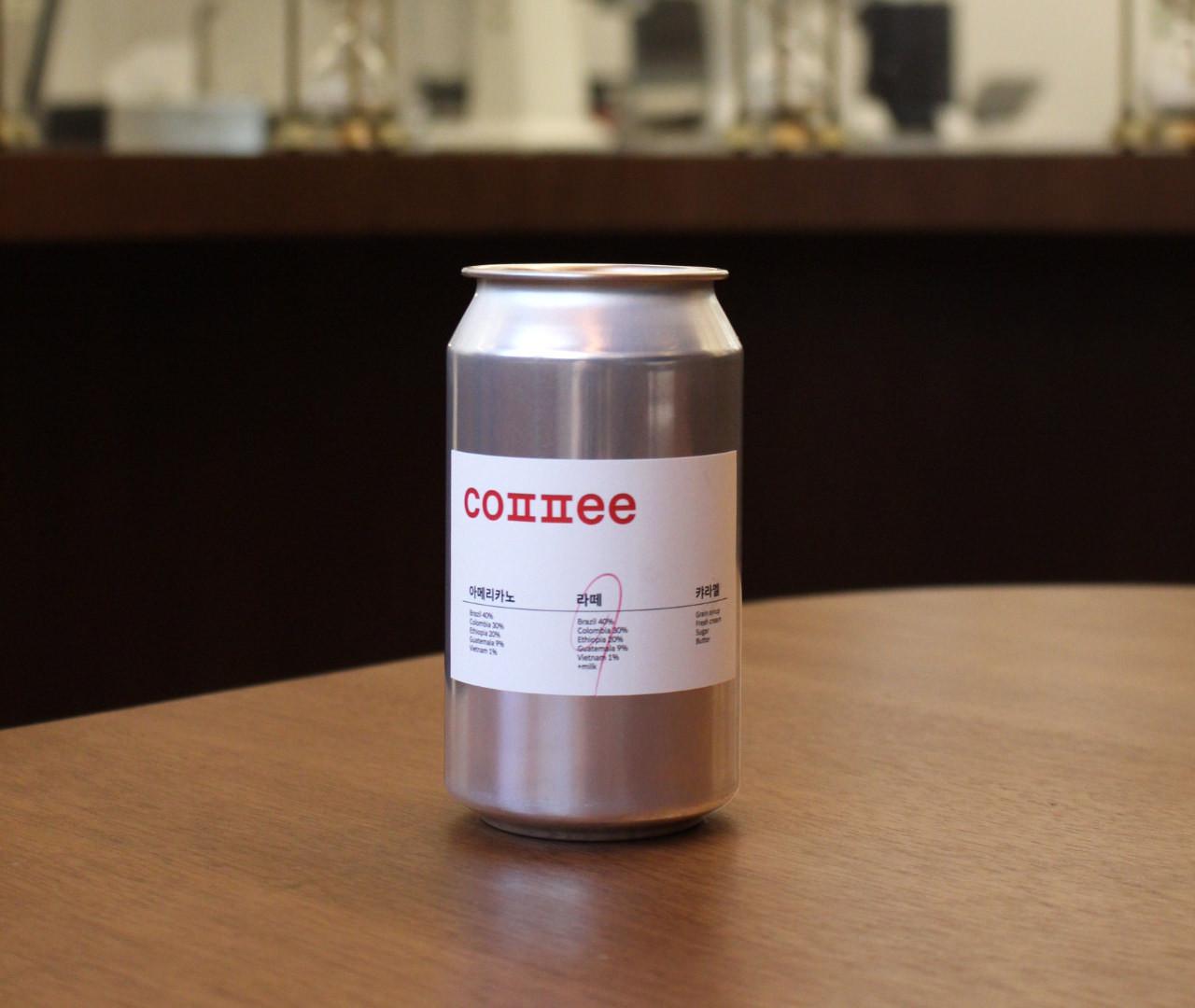 캔 커피 Steel Can Coffee