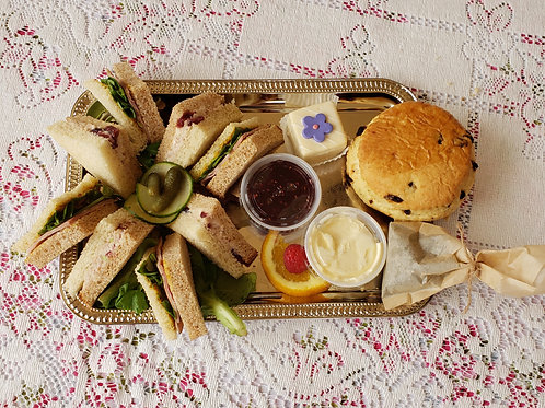 TEA TRAY for ONE!