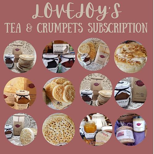 6 Month Tea & Crumpets Subscription
