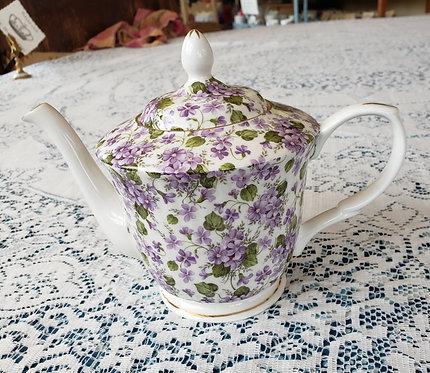 5-CUP VIOLET TEA POT