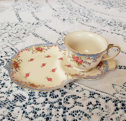 COUNTRY ROSE SNACK SET
