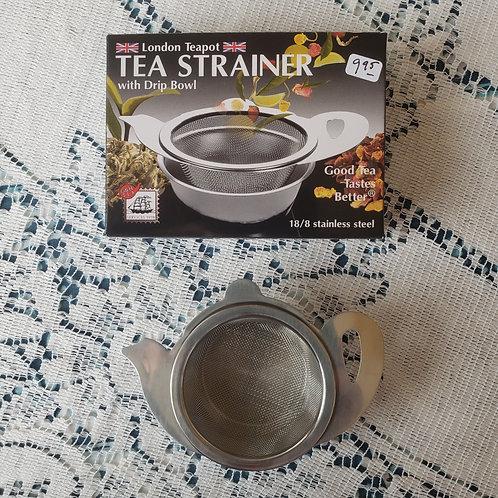 TEA POT TEA STRAINER