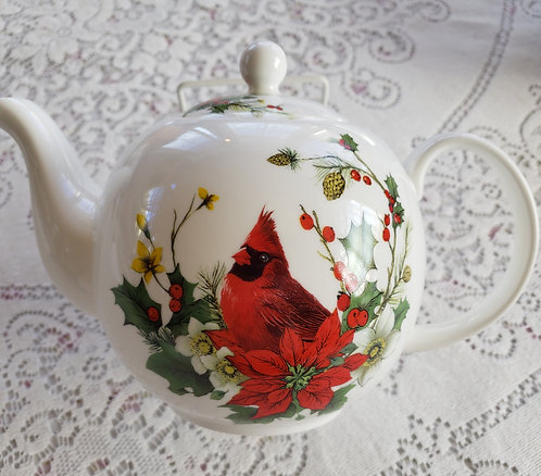 CARDINAL TEA POT